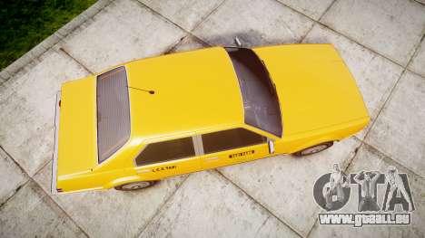 Albany Esperanto Taxi für GTA 4 rechte Ansicht