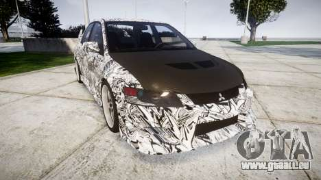 Mitsubishi Lancer Evolution IX Sharpie für GTA 4