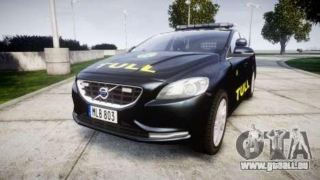Volvo V40 Swedish TULL [ELS] pour GTA 4