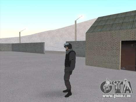 Les soldats de la MIA de la Fédération de russie pour GTA San Andreas troisième écran