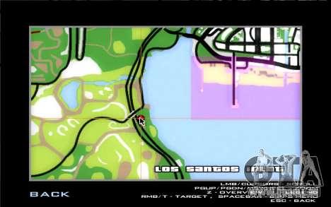 Straße garage von Siega für GTA San Andreas siebten Screenshot