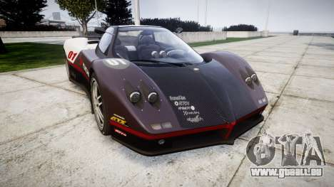 Pagani Zonda C12 S 7.3 2002 PJ3 für GTA 4