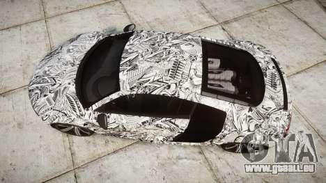 Audi R8 plus 2013 Wald rims Sharpie pour GTA 4 est un droit