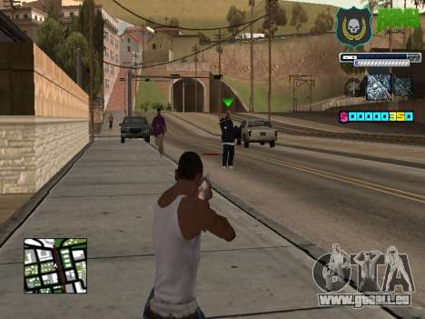 C-HUD Army pour GTA San Andreas