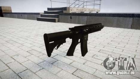 Machine HK416 pour GTA 4 secondes d'écran