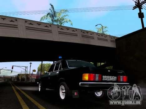 GAZ Wolga 3102 für GTA San Andreas linke Ansicht