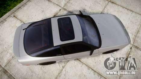 Nissan 240SX SE S13 1993 pour GTA 4 est un droit