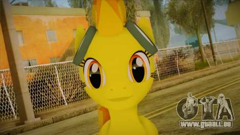 Spitfire from My Little Pony pour GTA San Andreas troisième écran