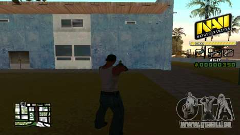 C-HUD NaVi pour GTA San Andreas deuxième écran
