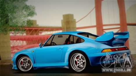 Porsche 911 GT2 (993) 1995 für GTA San Andreas Rückansicht