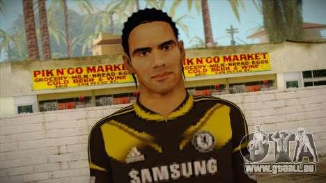 Footballer Skin 1 pour GTA San Andreas troisième écran