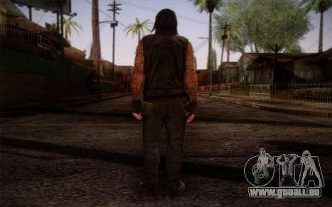 Francis from Left 4 Dead Beta pour GTA San Andreas deuxième écran