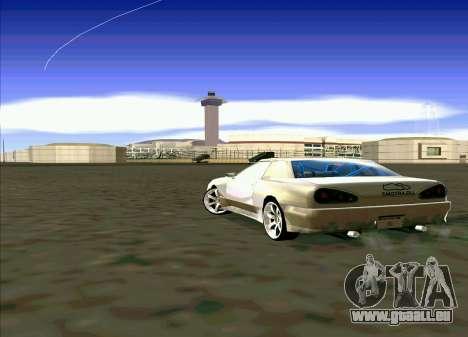 Elegy Restyle pour GTA San Andreas vue de droite