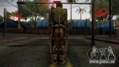 Army Exoskeleton für GTA San Andreas zweiten Screenshot