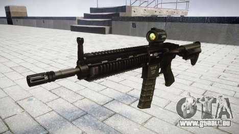 Maschine HK416 AR Ziel für GTA 4