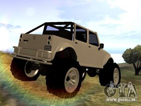 GTA 5 Mesa MerryWeather version pour GTA San Andreas laissé vue