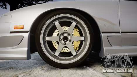 Nissan 240SX SE S13 1993 pour GTA 4 Vue arrière