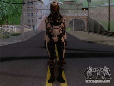 Cerberus Female Armor from Mass Effect 3 pour GTA San Andreas