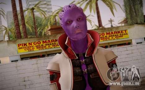 Halia from Mass Effect 2 für GTA San Andreas dritten Screenshot
