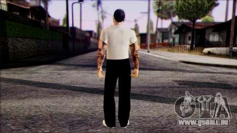 Russian Mafia Skin 4 pour GTA San Andreas deuxième écran