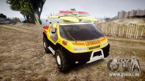 Ford Intruder Lifeguard Beach [ELS] pour GTA 4