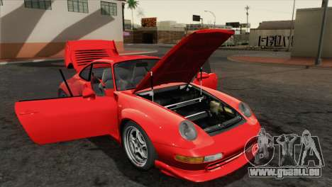Porsche 911 GT2 (993) 1995 [HQLM] pour GTA San Andreas vue arrière