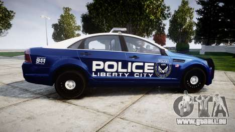 Chevrolet Caprice 2012 LCPD [ELS] v1.1 pour GTA 4 est une gauche
