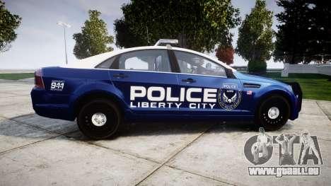 Chevrolet Caprice 2012 LCPD [ELS] v1.1 für GTA 4 linke Ansicht