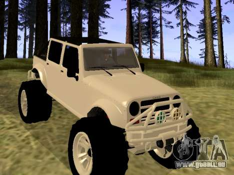 GTA 5 Mesa MerryWeather version pour GTA San Andreas