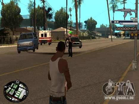 CLEO HUD Spiceman pour GTA San Andreas deuxième écran