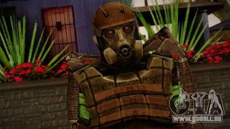 Army Exoskeleton für GTA San Andreas dritten Screenshot