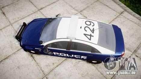 Chevrolet Caprice 2012 LCPD [ELS] v1.1 für GTA 4 rechte Ansicht