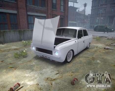 Moskwitsch 412 für GTA 4 Rückansicht
