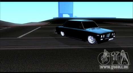 VAZ 2106 Chernysh pour GTA San Andreas laissé vue