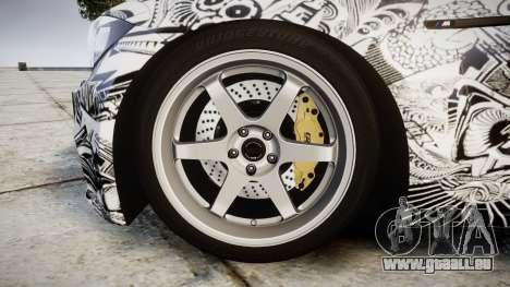 BMW 1M 2011 Sharpie pour GTA 4 Vue arrière