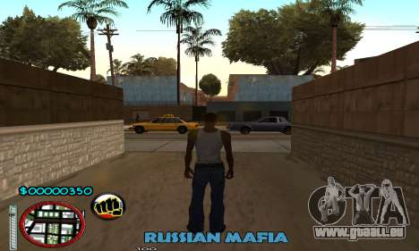C-HUD Russian Mafia pour GTA San Andreas