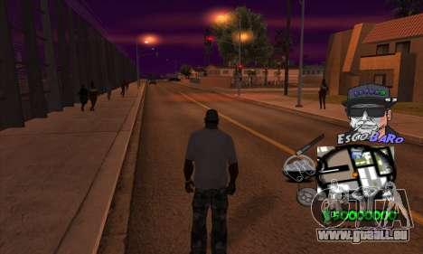 C-HUD by Travis Escobaro and Matthew Escobaro pour GTA San Andreas troisième écran