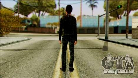 Ellie from The Last Of Us v2 pour GTA San Andreas deuxième écran