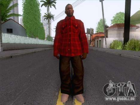 New Fam Skin 1 pour GTA San Andreas