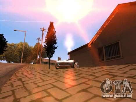 Sunset ENB pour GTA San Andreas quatrième écran