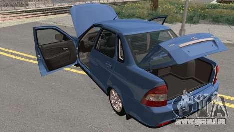 Lada Priora 2 pour GTA San Andreas vue arrière