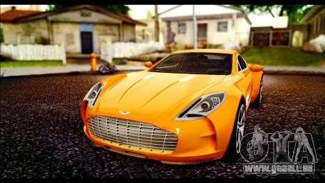 Aston Martin One-77 Black für GTA San Andreas