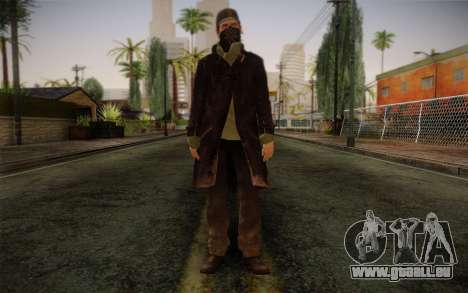 Aiden Pearce from Watch Dogs v2 für GTA San Andreas