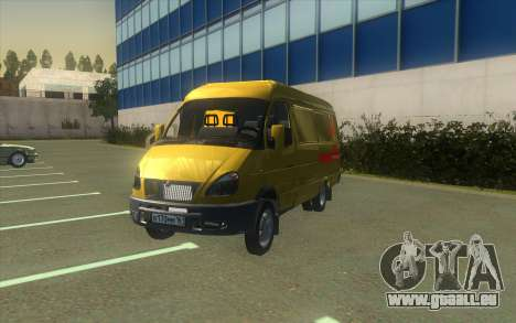 GAZelle 2705 Collection D'Alfa Bank pour GTA San Andreas