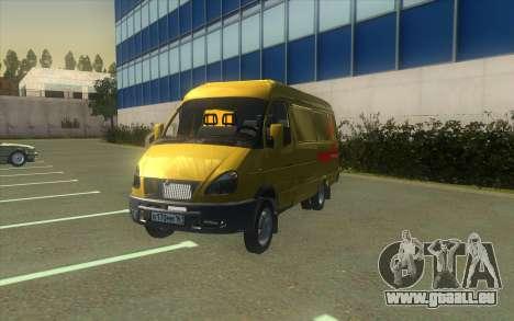 GAZelle 2705 Collection D'Alfa Bank pour GTA San Andreas