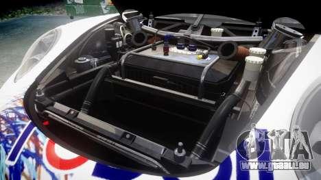RUF RGT-8 GT3 [RIV] RobOil pour GTA 4 est une vue de l'intérieur