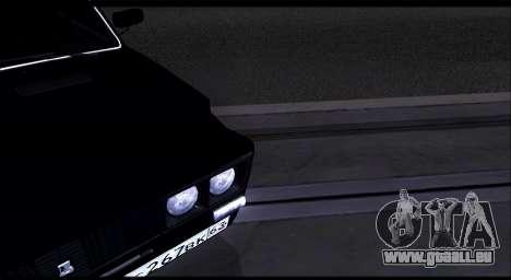 VAZ 2106 Chernysh pour GTA San Andreas vue de droite