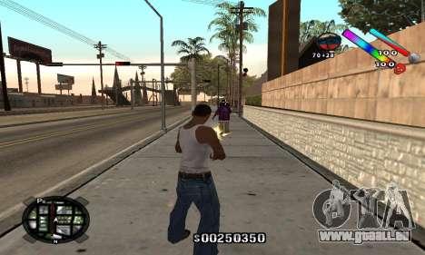 C-HUD Classic pour GTA San Andreas deuxième écran