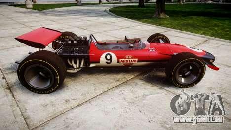 Lotus Type 49 1967 [RIV] PJ9-10 pour GTA 4 est une gauche