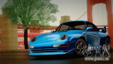 Porsche 911 GT2 (993) 1995 pour GTA San Andreas sur la vue arrière gauche